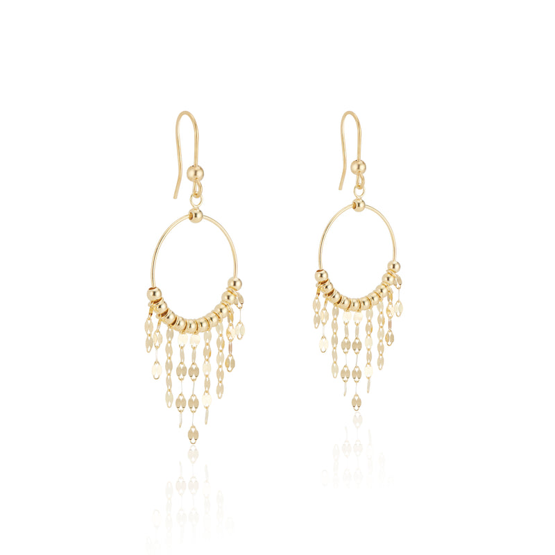 Ziva, Chandelier Earrings