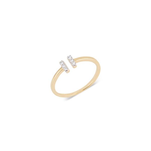 Kellie, Diamond Bar Ring