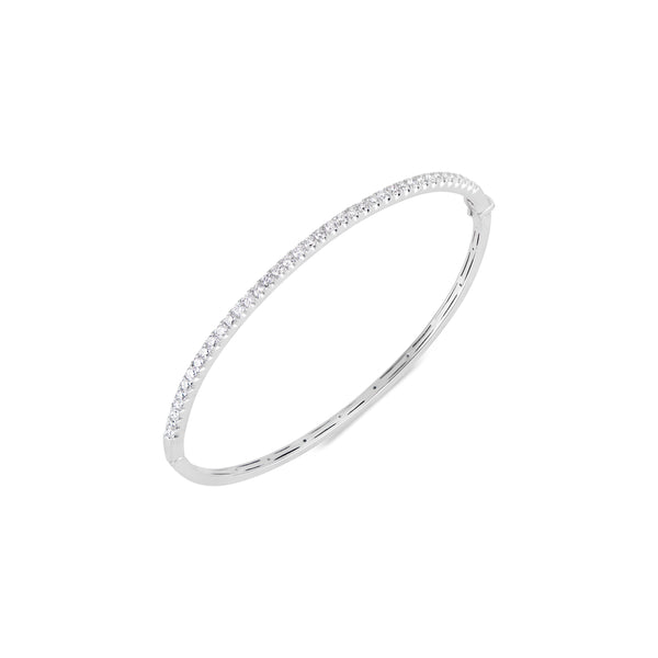 Elizabeth, Diamond Bracelet White Gold