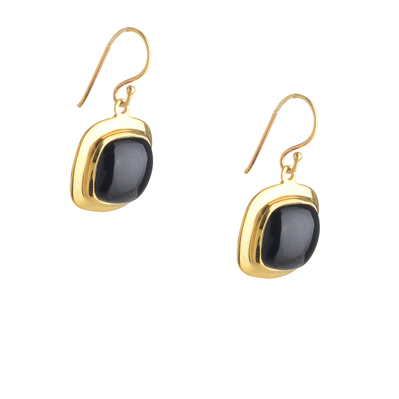 Cheryl, Black Onyx Earrings