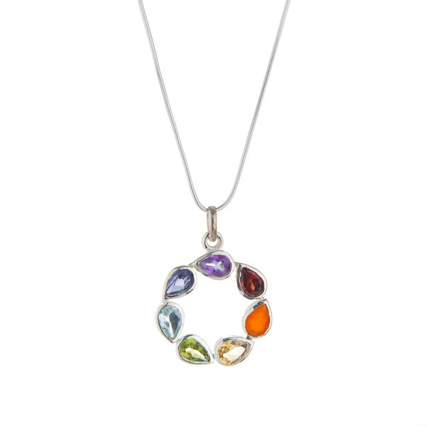 Chakra, Circle Necklace