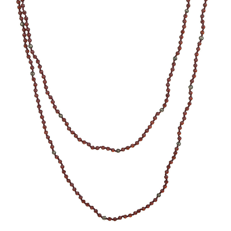 Kimberly, Garnet necklace
