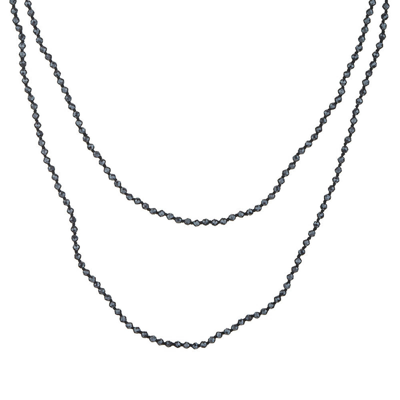 Kimberly,Hematite Layering necklace