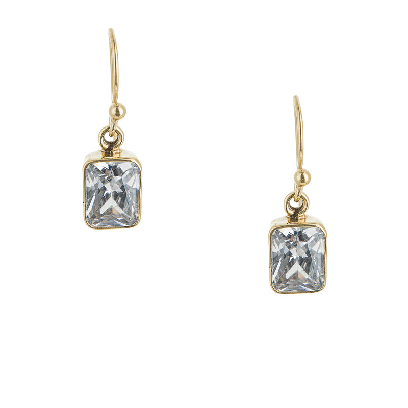 Quinn, CZ Earrings