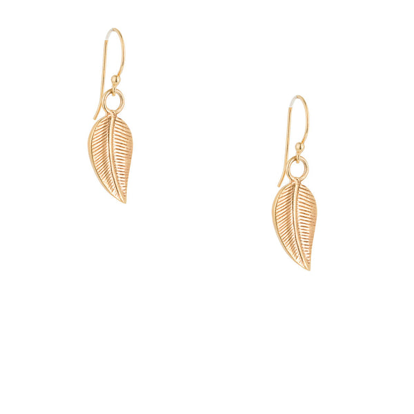 Elena, Leaf Earrings