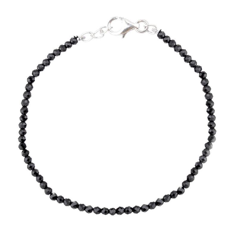 Black Spinel, Single Bracelet