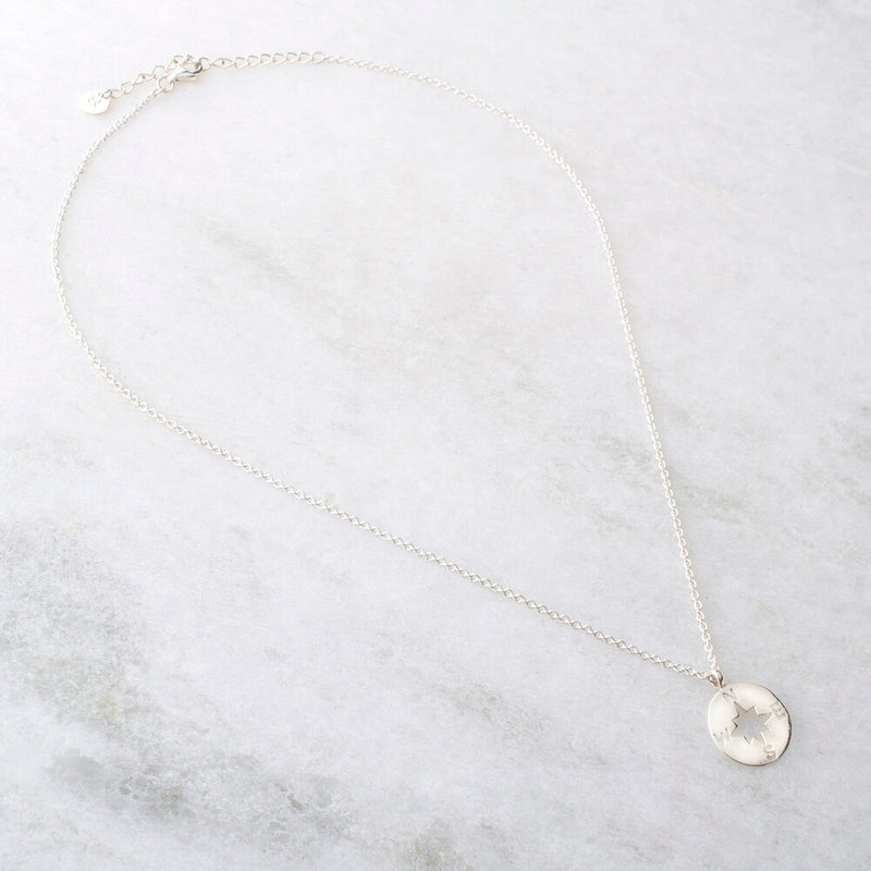 Gladys, Compass Necklace