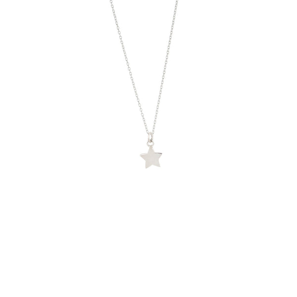 Ella, Star Necklace Sterling Silver