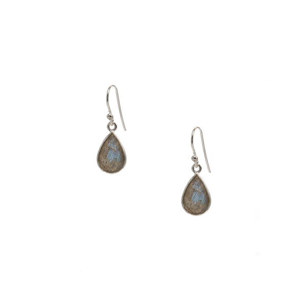 Iris, Labradorite Earrings