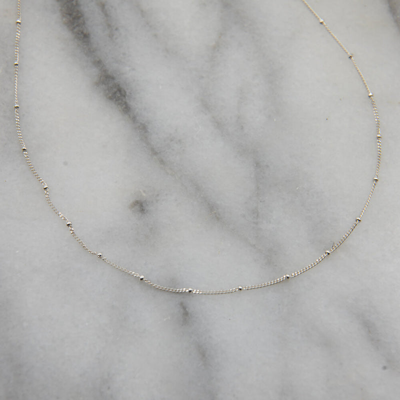 Madeline Chain, Sterling Silver