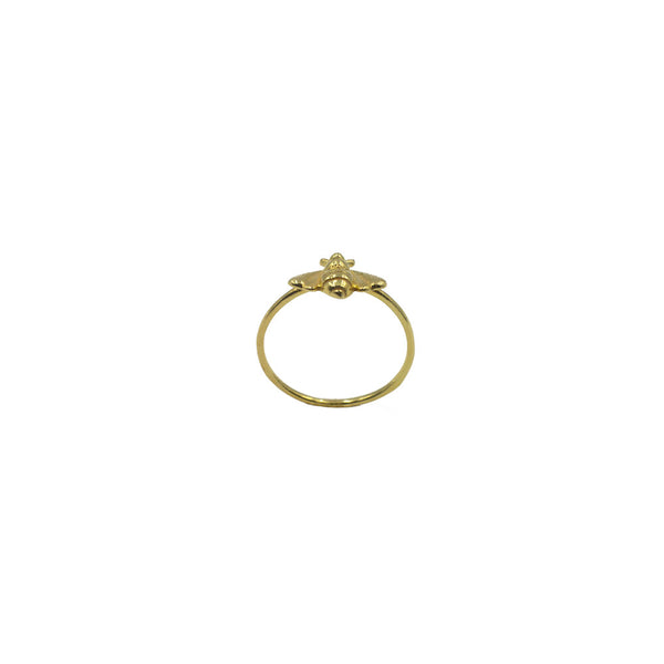 Bee Ring, Gold Vermeil