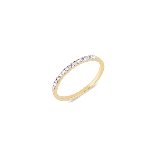 Sana, Half Eternity Diamond Ring
