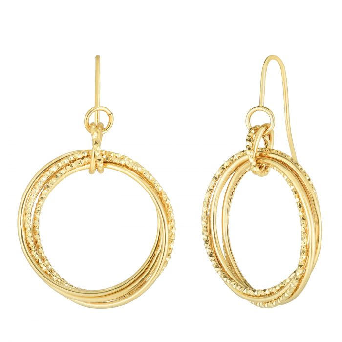 Maryam, Multi Circle Earrings