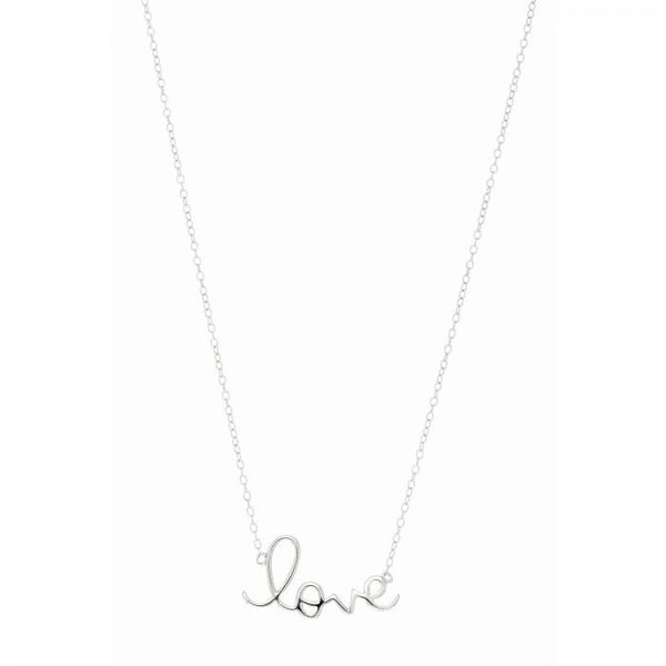 Love Necklace,Sterling Silver