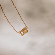 Load image into Gallery viewer, Handmade DB Necklace - 18k Gold