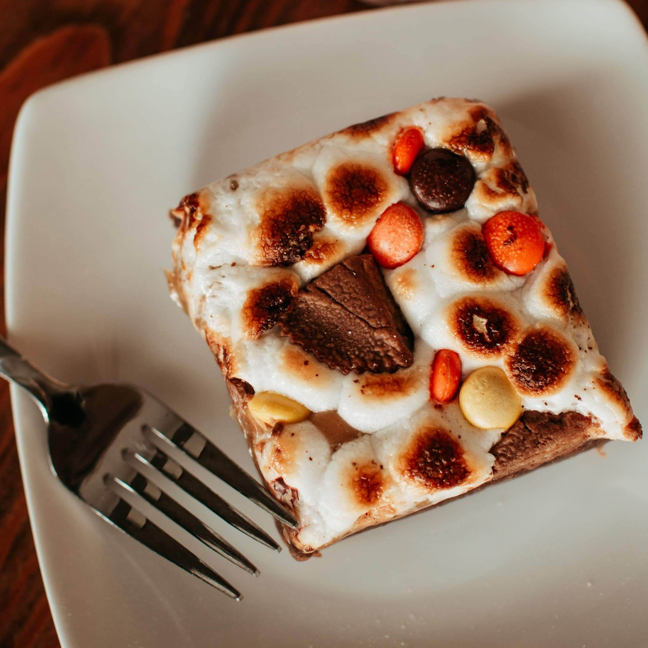 Fluffernutter Brownie