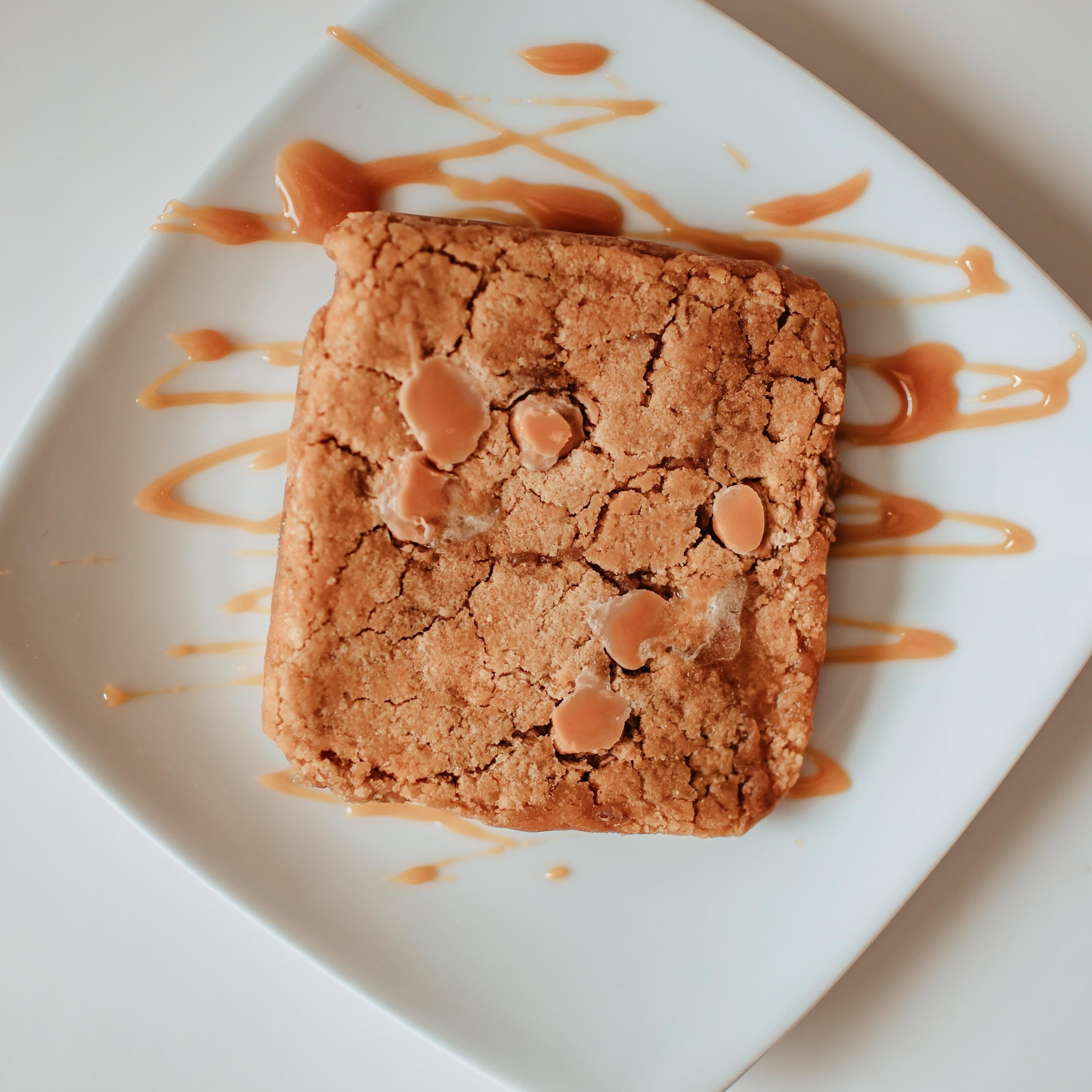 Butterscotch Toffee Blondie