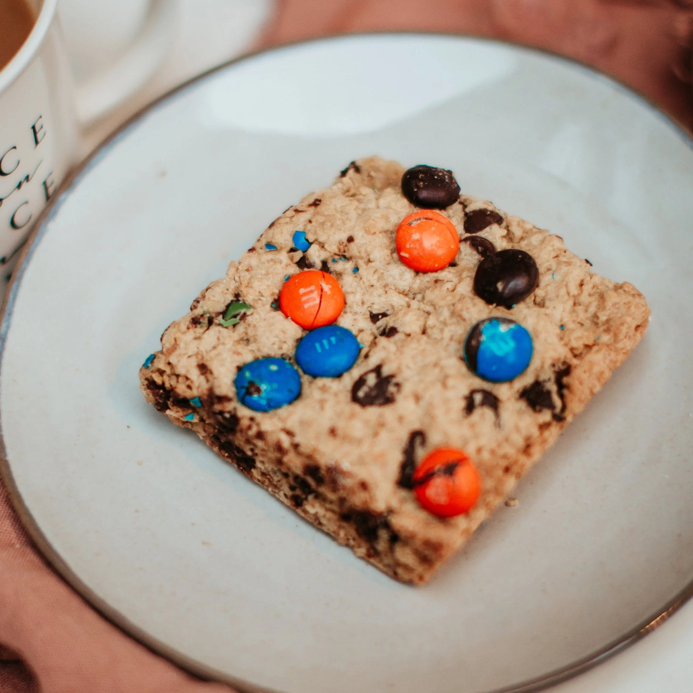 Monster Cookie Baby Bars