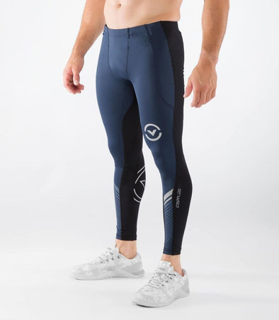 VIRUS / Men's Stay Cool Grappling Compression Spats NAVY/BLACK (Co19) グラップリングコンプレッションスパッツ