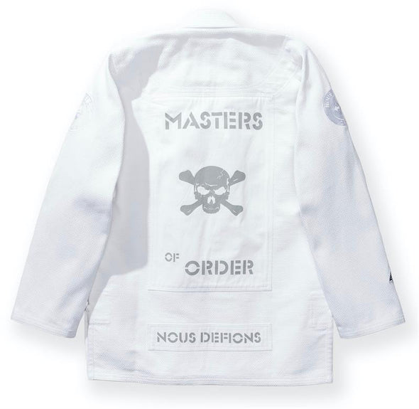 "NOUS DEFIONS X DUALFORCES /  ""MASTERS OF CHAOS"" 柔術衣 WHITE"