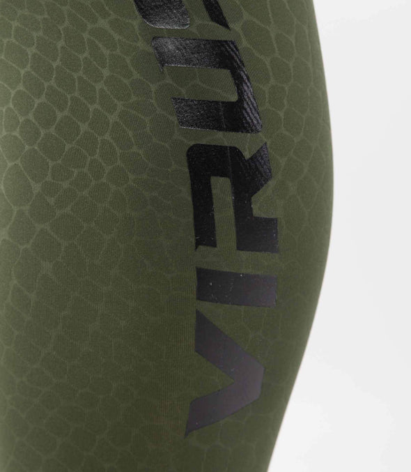 VIRUS / VIPER STAY COOL COMPRESSION PANTS BLACK/OLIVE GREEN (CO51) コンプレッションパンツ
