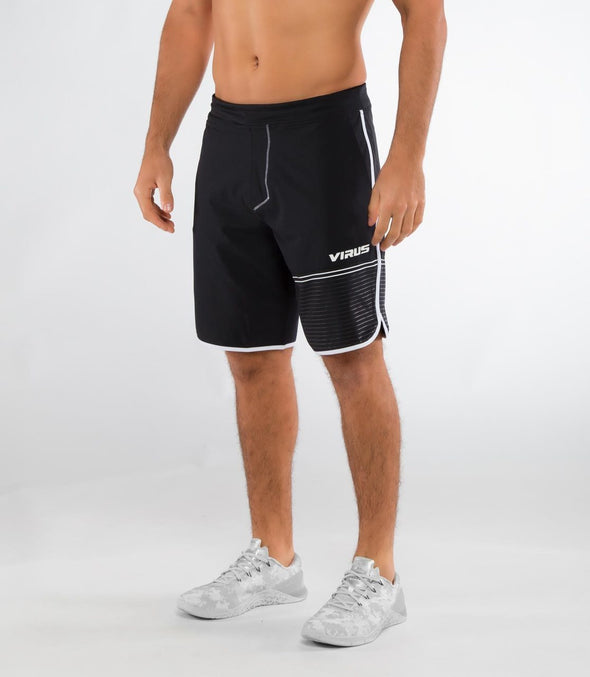 VIRUS / MEN'S VELOCITY SHORT BLACK/WHITE (ST5) メンズ ベロシティ ショーツ
