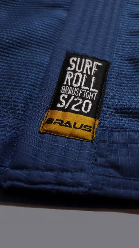 BRAUS / Surf N Roll 柔術衣 Blue