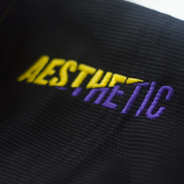AESTHETIC / THE PURE 4.0 柔術衣 BLACK