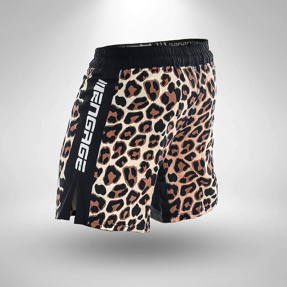 ENGAGE / LEOPARD MMA GRAPPLING SHORTS - ファイトショーツ