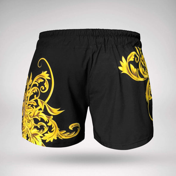 ENGAGE / GOLD BARROCO MMA HYBRID FIGHT SHORT - ファイトショーツ