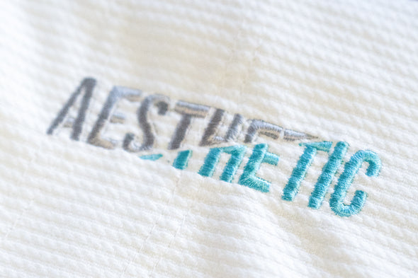 AESTHETIC / THE PURE LEGACY 柔術衣 WHITE/TEAL