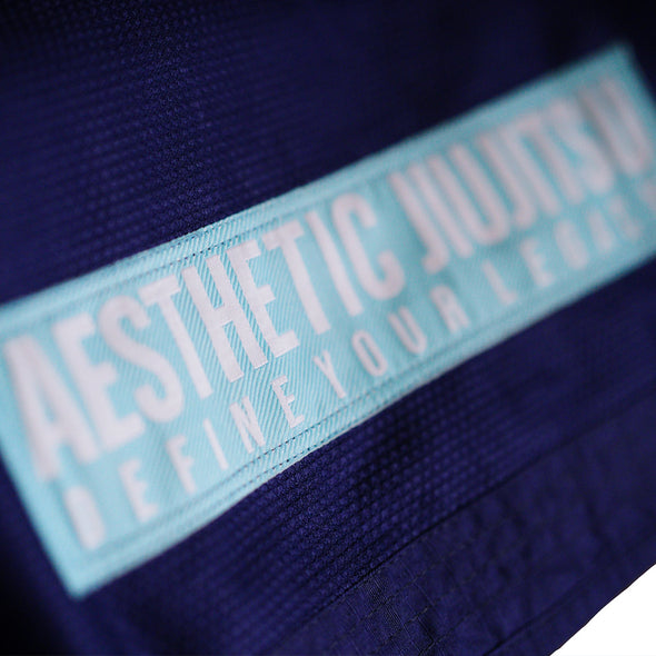 AESTHETIC / THE PURE LEGACY 柔術衣 NAVY/TEAL