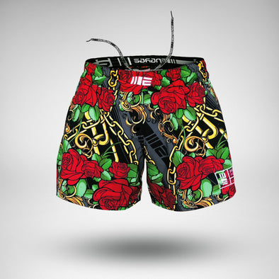 ENGAGE / Rose Gold MMA Hybrid Fight Shorts - ファイトショーツ