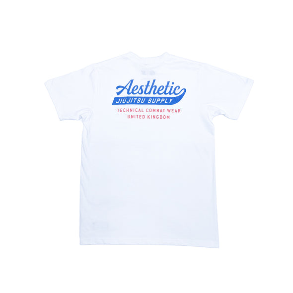 AESTHETIC / SUPPLY Tシャツ WHITE