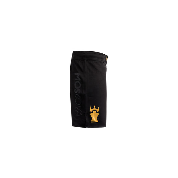 MOSKOVA / X-TRAINING SHORT トレーニングショーツ BLACK/GOLD