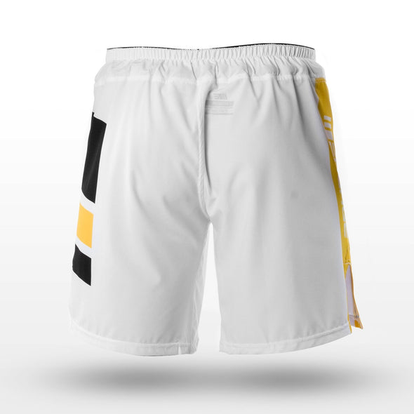 ENGAGE / Knights MMA Shorts - ファイトショーツ WHITE