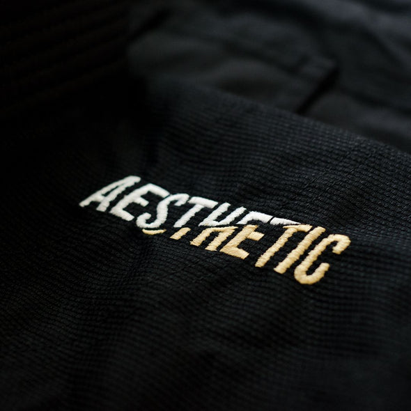AESTHETIC / THE PURE LEGACY 柔術衣 BLACK/GOLD