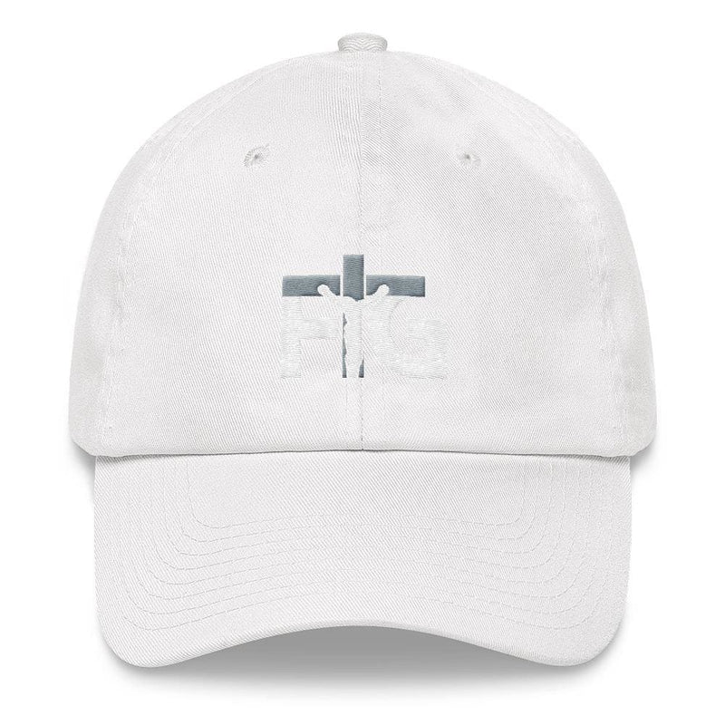 Dad Hat FIG 3 White Unisex - White