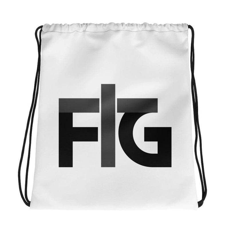 Drawstring Bag FIG 2 Black
