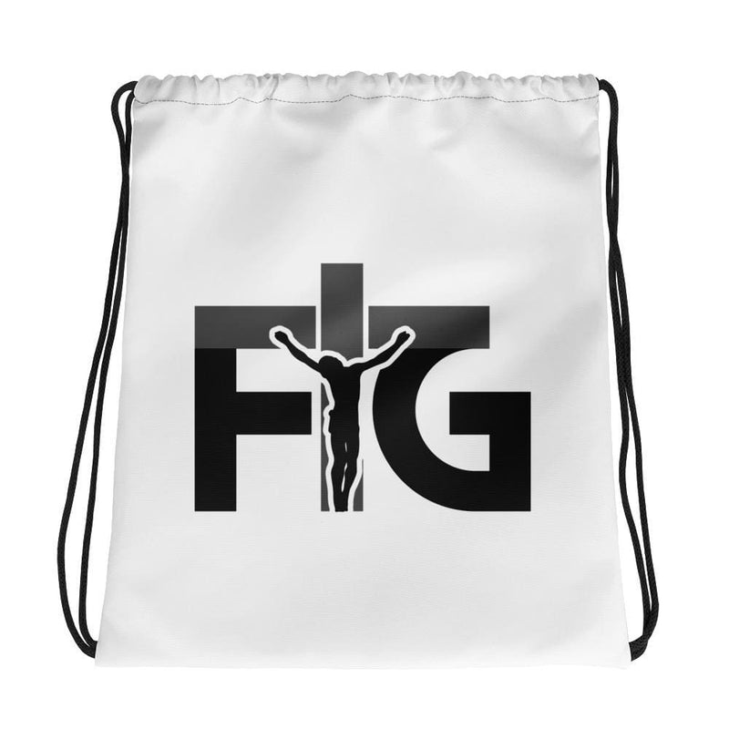 Drawstring Bag FIG 3 Black