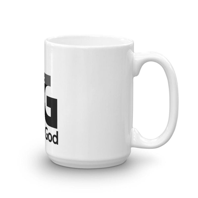 Mug Faith in God 3 Black - 15oz