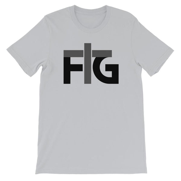 Short-Sleeve T-Shirt FIG 2 Black Unisex - Silver / S