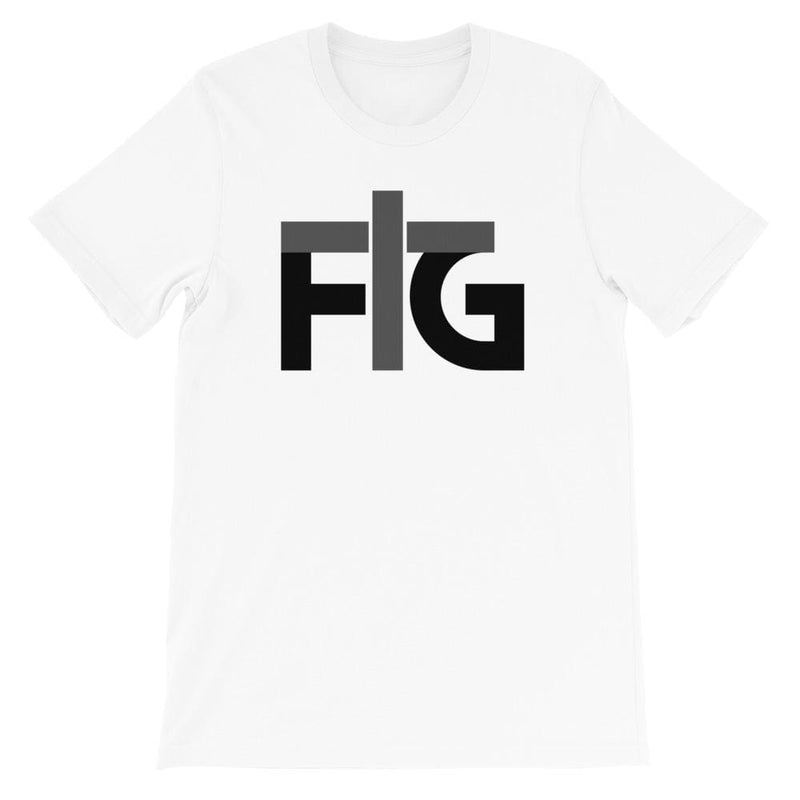 Short-Sleeve T-Shirt FIG 2 Black Unisex - White / S