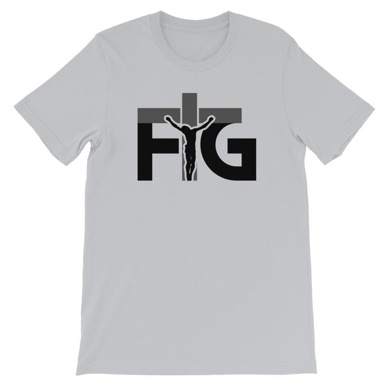 Short-Sleeve T-Shirt FIG 3 Black Unisex - Silver / S
