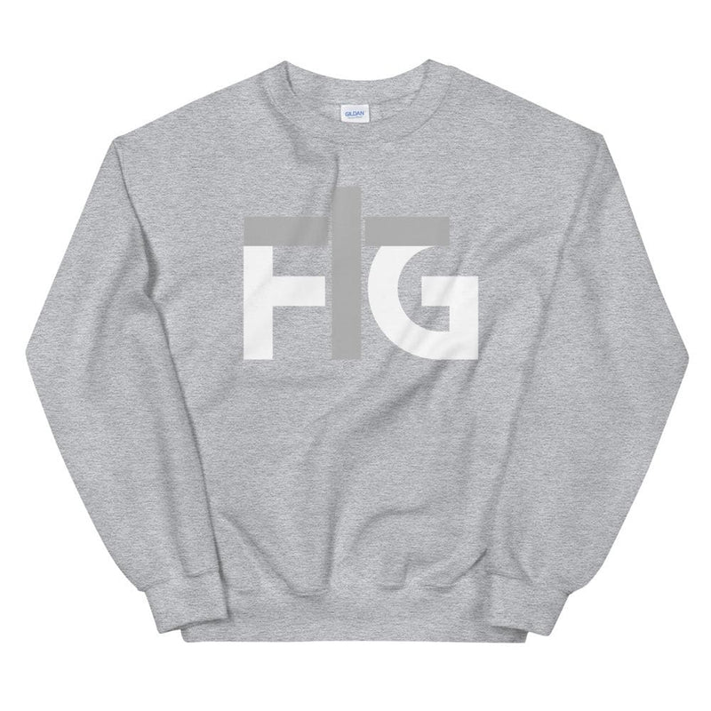 Sweatshirt FIG 2 White Unisex - Sport Grey / S