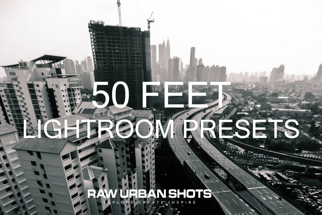 50 Feet Lightroom Presets Pack