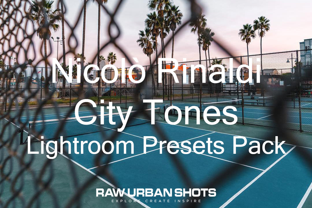 Nicolò Rinaldi City Tones Lightroom Presets Pack
