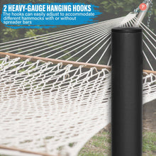 Load image into Gallery viewer, 15FT Steel Hammock Stand, w/Adjustable Hanging Hooks, Heavy Duty 500 LBS Capacity - Project One Products