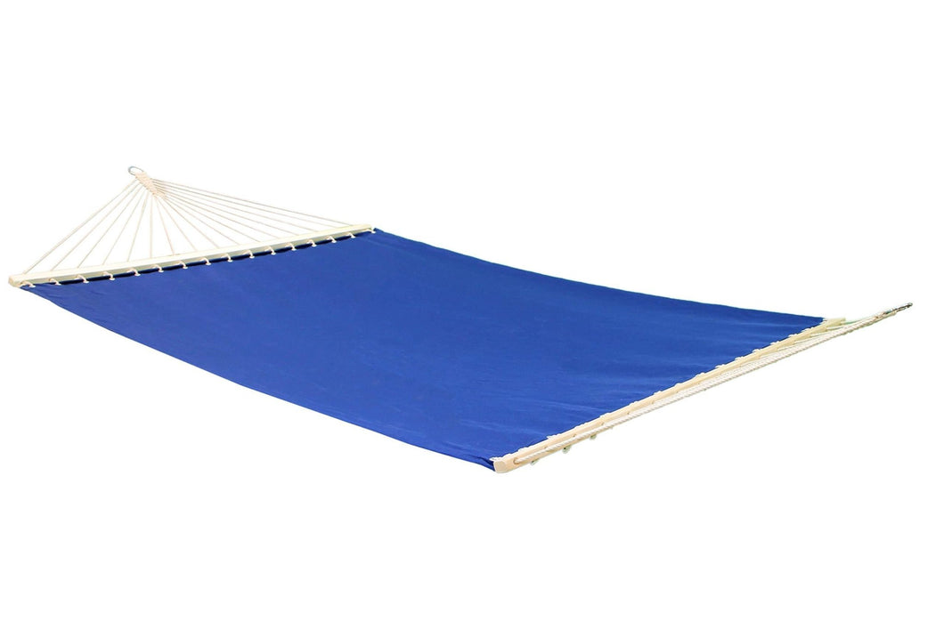 Project One Double Hammock, Quick Dry Hammock with Double Size Solid Wood Spreader Bar Outdoor Patio Yard Poolside Hammock. Waterproof and UV Resistance, 2 Person 450 Pound Capacity - Project One Products
