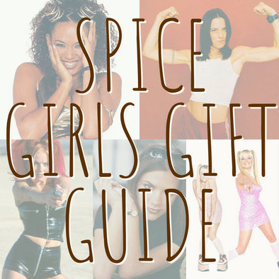 TBR Gift Guide Inspired by: THE SPICE GIRLS
